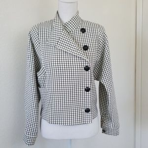 Cabi windowpane jacket